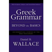 Greek Grammar Beyond the Basics: An Exegetical Syntax of the New Testament