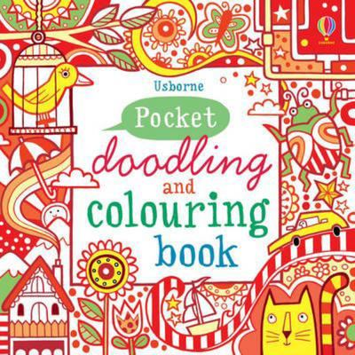Red Book (Pocket Doodling and Colouring Book)