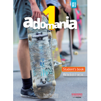 ADOMANIA 1/A1 TEXTBOOK ENGLISH VERSION & DVD-ROM