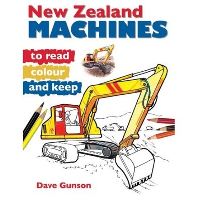 New Zealand Machines to Read, Colour and Keep