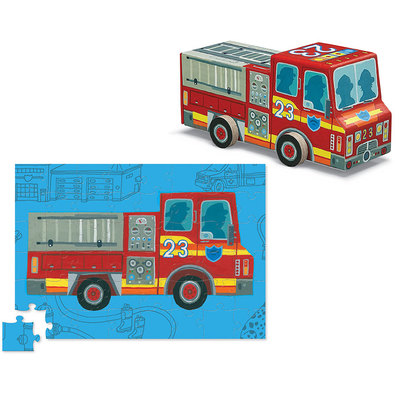 Fire Truck 48 Pc Vehicle Puzzle