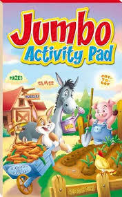 Red Jumbo Activity Pad
