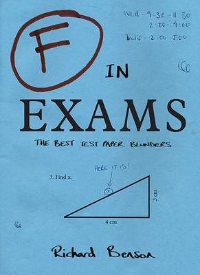 F in Exams Best Test Paper Blunders