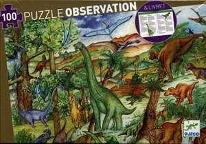 Djeco Dinosaur Puzzle Observation 100 Pieces