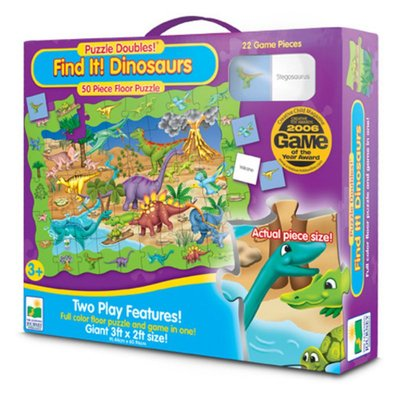 Find It! Dinosaurs (Learning Journey Puzzle Doubles)