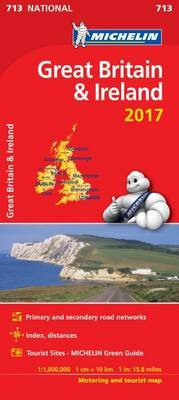 Great Britain 2017 & Ireland National Map 713