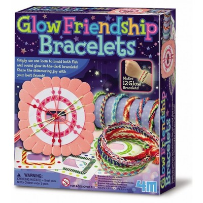 Glow-in-the-Dark Friendship Bracelets