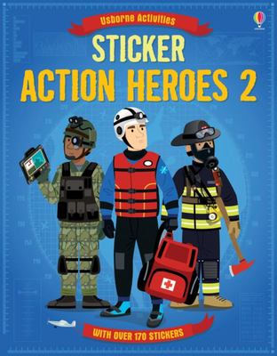 Sticker Action Heroes 2