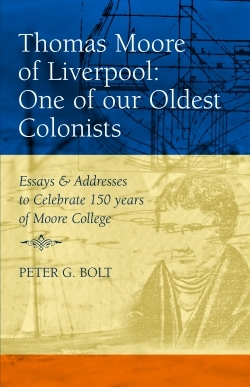 Thomas Moore of Liverpool: One of our oldest colonists