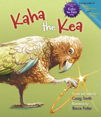 Kaha the Kea (Book & CD)