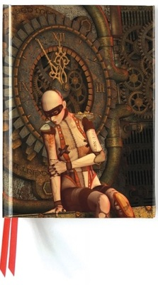 Notebook Steampunk Mannequin