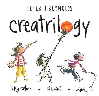 Creatrilogy Slipcase (Contains Ish, Sky Color & The Dot)