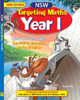 NSW Targeting Maths Year 1 Australian Curriculum edition