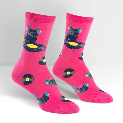 Cat Scratch Socks - Female Crew