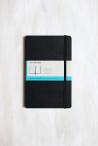 Moleskine Notebook Soft Dot Grid Large Black