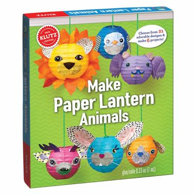 Make Paper Lantern Animals (Klutz)
