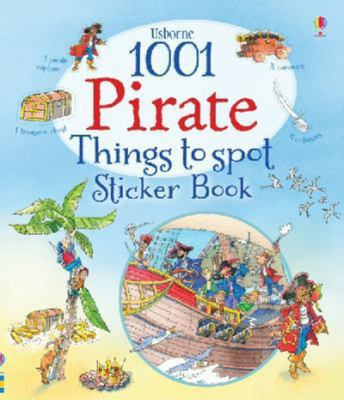 1001 Pirate Things to Spot Sticker Book (Usborne PB)