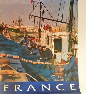 poster - Sardine Fishermen of St. Guenole