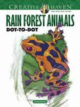 Creative Haven Rain Forest Animals Dot-to-Dot (PB)
