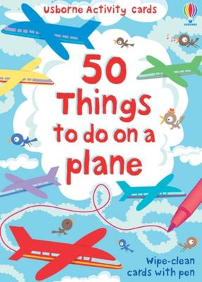 50 Things to Do on a Plane (Usborne Activity Cards)