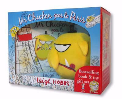 Mr Chicken Goes to Paris (HB Book and Toy)