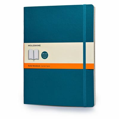 Moleskine Soft Extra Large Underwater Blue Ruled Notebook