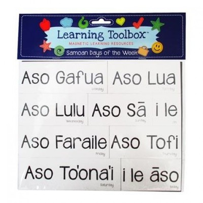 Samoan Days of the Week (Magnetic Learning Resources)