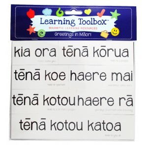 Greetings in Maori (Magnetic Learning Resources)
