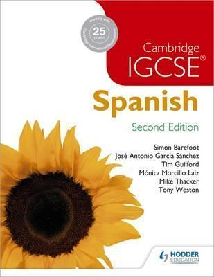 Cambridge IGCSE Spanish Student Book 2nd Edition
