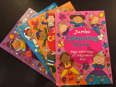 Jumbo Colouring Book