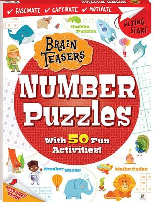 Flying Start Brain Teasers: Number Puzzles