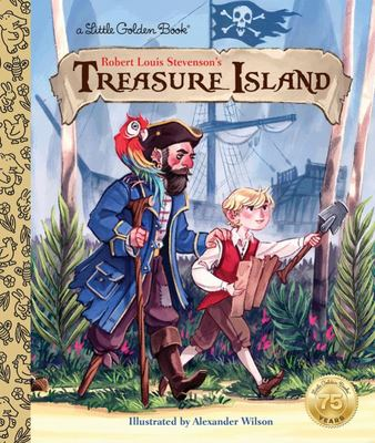 LGB Treasure Island (Little Golden Book)