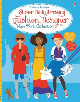 Fashion Designer: New York Collection (Sticker Dolly Dressing)