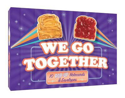 We Go Together... 10 Pop-Up Notecards & Envelopes