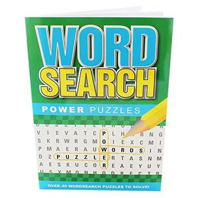 Wordsearch Power Puzzles Assort