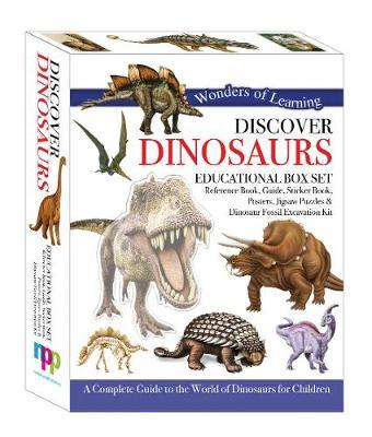 Discover Dinosaurs Educational Tin Set (Wonders of Learning)