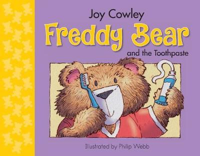 Freddy Bear & the Toothpaste (Board)