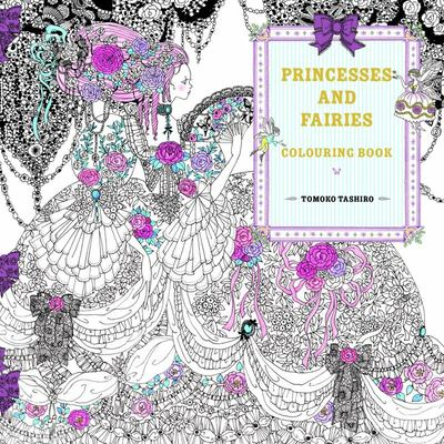 Princesses and Fairies Colouring Book