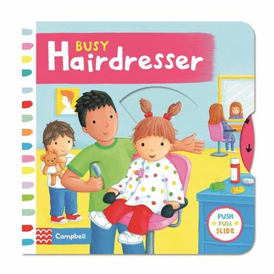 Busy Hairdresser (Push Pull Slide)