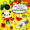 Farm Words Play Book (Baby's Very First)