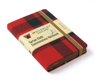 MacGregor Waverley Genuine Tartan Cloth Commonplace Notebook (9cm x 14cm)