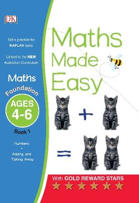 Foundation, Ages 4-6, Book 1 (Maths Made Easy)