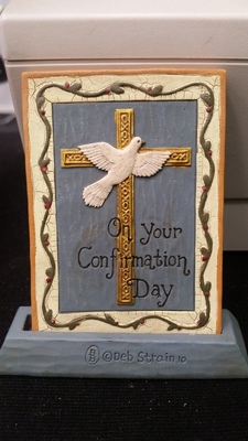 Plaque Confirmation - On your Confirmation Day