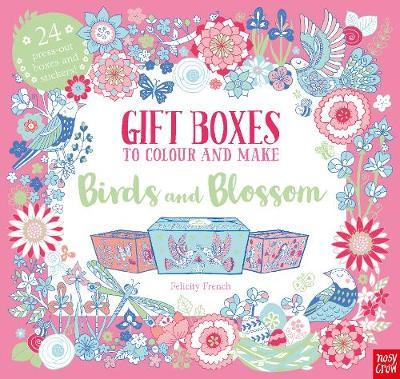 Birds and Blossom: Gift Boxes to Colour and Make