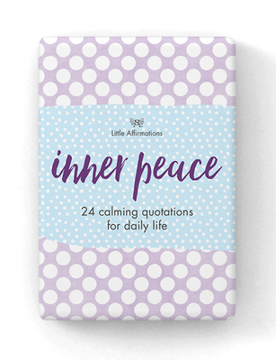 DIP Inner Peace 24 affirmation Cards