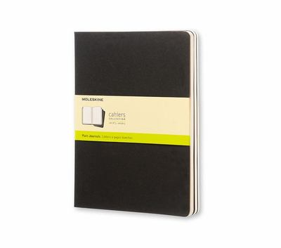 Cahier Plain Black XLarge Notebook pk3 - Moleskine