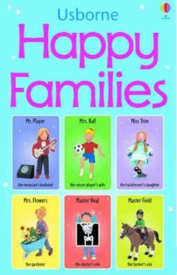 Usborne Happy Families Game