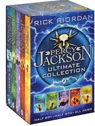Percy Jackson Ultimate Collection Boxed Set