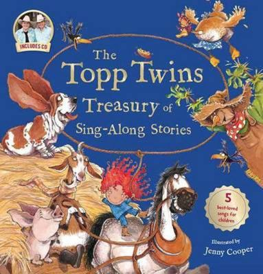 The Topp Twins Treasury of Sing-Along Stories (Book & CD)