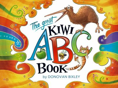 The Great Kiwi ABC Book (Board)
